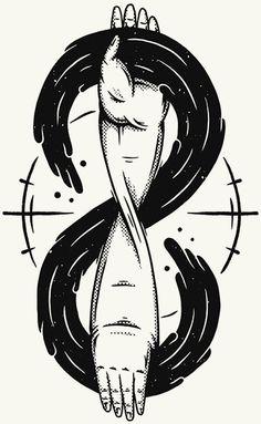 Parallèle Zine // The Unexplained by Christi du Toit, via Behance