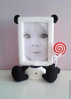 Купить Фото рамочка Панда - девочке, девушке, милый подарок, милая игрушка, фоторамка