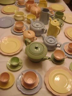it has to be utility Vintage Crockery, Vintage China, Vintage Tea, Vintage Ceramic, Vintage Kitchen, Johnson Bros, Johnson Brothers, Pastel Kitchen, Pretty Pastel