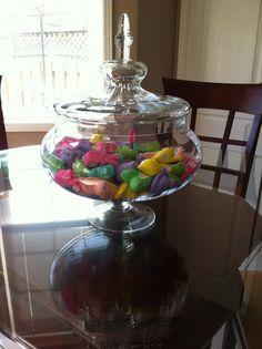 Peeps in a vase for Easter