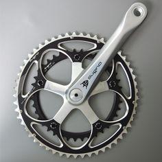 Mighty Comp.Road-901D (Chainwheel Set) Bike Tattoos, Brompton, Bike Design, Touring, Biking, Badge, Cycling, Tattoo Ideas, Concept