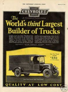 Chevrolet Truck Color (1926)   #  | » via | buy at eBay | more transportation...
