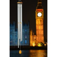 The Chimes of Westminster from Woodstock Chimes (WWS $97.95) play the same traditional and joyous melody as the Westminster Quarters heard in the streets of central London for over 150 years. Bring Big Ben home!
