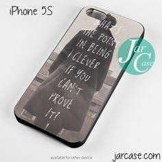 Sherlock Holmes Benedict Cumberbatch Phone case for iPhone 4/4s/5/5c/5s/6/6 plus