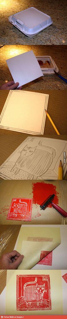 CREATIVE with foam... recicla y haz arte!