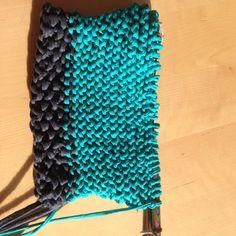 Foto: Tasche, gestrickt / © Der grüne Mami Blog
