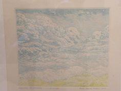 Eau Forte Le Nuage par Sacha Koulitchov épreuve d'artiste | eBay