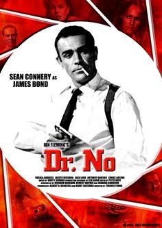 James Bond - Dr No  #drno #jamesbond #bond #007 #seanconnery #movie #film #cinema #classic