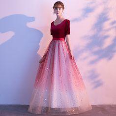 Cheap Evening Gowns, Best Evening Dresses, Evening Gowns Online, Burgundy Evening Dress, Hijab Prom Dress, Tulle Prom Dress, Dance Dresses, Prom Dresses, Formal Dresses