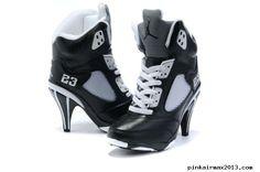 innovative design aad8c 66e54 For Wholesale Air Jordan 5 V Womens Heels Ankle Boots Black White Cheap Sale