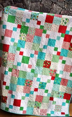QUILT PATTERN Quick and Easy Layer Cake or Charm Pack.