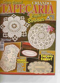CROCHET -CAMINOS Y CARPETAS - RAIHUEN - Álbuns da web do Picasa...FREE BOOK!!