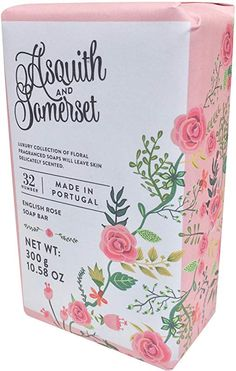 Asquith and Somerset Triple Milled English Rose Moisturising Soap Bar Rose Soap, Body Cleanser, Bath Soap, Soap Bar, English Roses, Somerset, Bath And Body, Moisturizer, Fragrance
