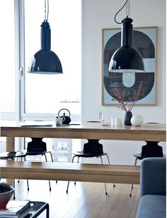 Apartamento en Manhattan • Manhattan apartment dining room