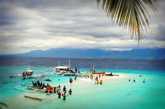 The sandbar at Sumilon Island off the coast of Oslob town in Southeastern Cebu.  Yes, this is fantastic!