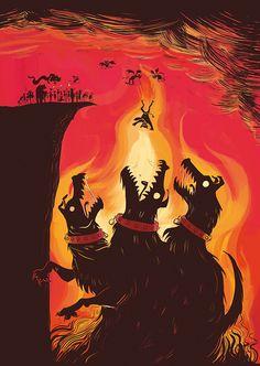 Last Tape in Hell - Cerberus by ratherlemony on DeviantArt