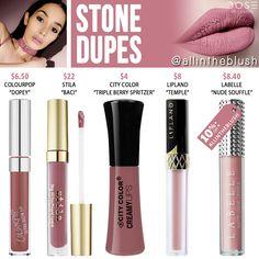 Dose of Colors Stone Liquid Lipstick Dupes - All In The Blush Lipstick Dupes, Best Lipsticks, Liquid Lipstick, Lipstick Art, Lipstick Tricks, Lip Gloss Colors, Lipstick Colors, Lip Colors, Maroon Lipstick
