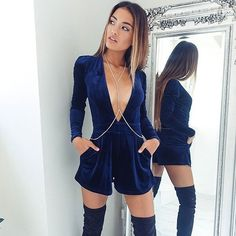 Our stunning 'Seduce Me' playsuit is back in stock Shop it now via the link in our bio ☝️ #showpo