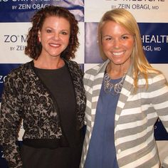 Maryn and Leslie take some time out to attend a #ZO #zeinObagi #skincare lecture in #BeverlyHills, CA