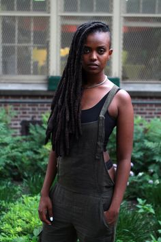 28 Street Style Stunners From Pitchfork #refinery29  http://www.refinery29.com/pitchfork-street-style#slide2  Musician Kelala stuns with her overall game.