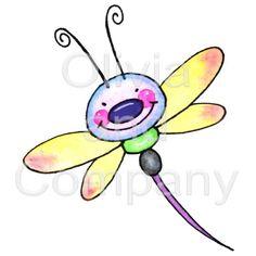 Cute Dragonfly