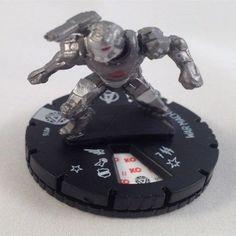 MARVEL HEROCLIX FIGURINE IRON MAN 3 MOVIE : war machine #016