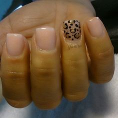 If you're looking for some cute nail art designs, you are at the right place!These 20 Simple nails are so easy to make and they are super cute as well. Fancy Nails, Love Nails, Pretty Nails, Cute Nail Art Designs, Cheetah Nail Designs, Cheetah Nails, Dipped Nails, Nagel Gel, Halloween Nails