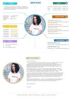 Met ditWord cv-template sta jij centraal!De layout oogt alsofhetgemaakt is in Photoshop. Gelukkigkanje dit sjabloon bewerken in Microsoft Word.... Cv Template Doc, Modern Cv Template, Best Resume, Resume Cv, Best Cv, Word Cv, Free Hd Movies Online, Cv Examples, Cv Design