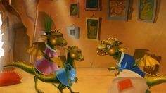 A 4 minute cartoon is about a young dragon called Simon, his mummy, and Grandpa Drake. As Grandpa Drake gets older, he exhibits behaviours common with dementia and getting old, like not being able to find items, or forgetting things. Children may have come across some of these things in their own families, and the cartoon can be used to discuss these issues.