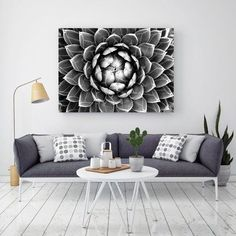 Succulent Bloom Printed Wall Art by Hoxton Arthouse. Get it now or find more All Wall Art at Temple & Webster.