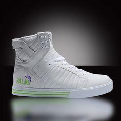 promo code 116c9 2f2b5 femmes chaussures Supra blanc   cyan