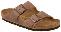Birkenstock Arizona tobacco oiled leather from Footprints Lawrence