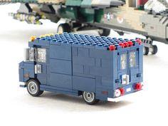 USAF line van | Vans like this were used by the US air force… | Flickr