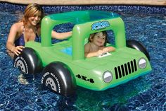 Create lasting summer memories with one of our unique inflatable pool toys or floats from ToySplash! Shop ToySplash for the most inflatable pool toys and pool floats! Kids Boys, Baby Kids, Kids Fun, Jeep Baby, Inflatable Float, Baby Pool, Pool Floats, Pool Toys, All I Ever Wanted