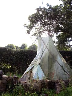 this summer i'm building a teepee