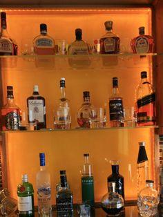 Lovely Well Stocked Liquor Cabinet