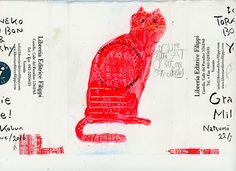 記憶のモンプチ 中西なちお トラネコボンボン | 夏至 展覧会 | 絵 動物 お弁当