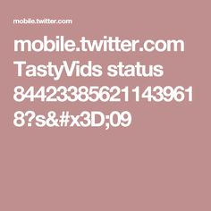 mobile.twitter.com TastyVids status 844233856211439618?s=09