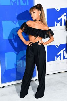 Ariana Grande in Alexander Wang at the 2016 MTV VMAs