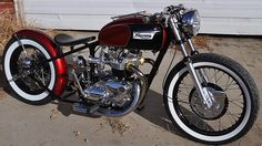 Custom Triumph Bobber Motorcycles - Parts and Complete Builds