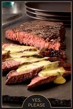 Enhance a juicy steak with a spicy ancho chile rub. A Cilantro Lime Hollandaise sauce made with #EuroStyleButter brings out an even richer flavor.
