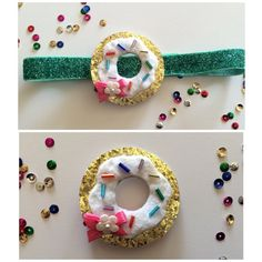Hey, I found this really awesome Etsy listing at https://www.etsy.com/listing/215975916/fun-glitter-donut-hair-clip-donut