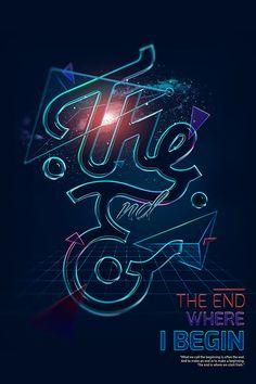 The End Art Works by Tung Shark , via Behance