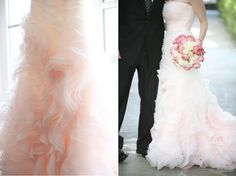 Love this #blush #gown