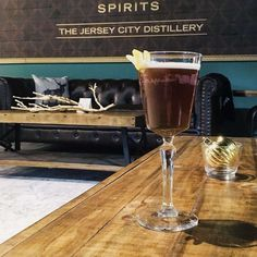 Get the run-down on Jersey City's very first {and only} distillery, Corgi Spirits. Located on 1 Distillery Drive, this place is sure to please with their one-of-a-kind cocktails and chill atmosphere.