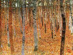 Birch Forest-Gustav Klimt