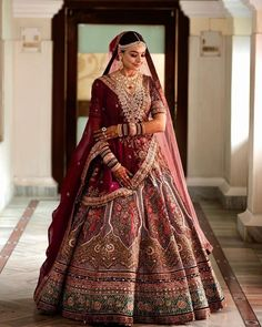 Indian Bridal Outfits, Indian Bridal Wear, Indian Fashion Dresses, Bridal Dresses, Wedding Outfits, Wedding Wear, Wedding Attire, Wedding Ceremony, Dream Wedding