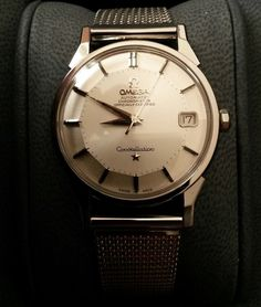 Vintage Omega Constellation Piepan Chronometer In Stainless Steel Circa 1960s - https://omegaforums.net