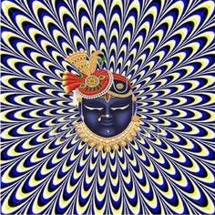 It looks like its moving Cool Illusions, Optical Illusions, Feng Shui, Perfectly Timed Photos, Spirited Art, Shree Krishna, Mind Games, Illustrations And Posters, Op Art