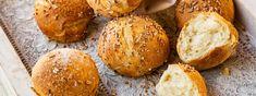 Dinkel-Milchbrötchen - Rezept | Swissmilk Bread, Food, Brown Bread, Rezepte, Breads, Bakeries, Meals